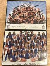 2006 Dallas Cowboys Cheerleaders/2007 Desperados Dancers FRAMED Pictures SIGNED
