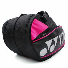 Yonex Tennis Badminton Bag 2 Pack Rucksack Black Racquet Racket Squash Bag9526Ex