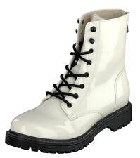 Jane Klain Woman Schuhe Freizeit Boots Stiefel 252-449 Pearl Lack Reißverschluss