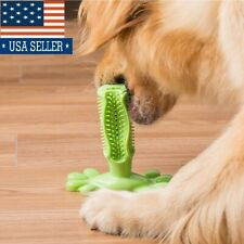 Dog Teeth Toy Puppy Pet Rubber Clean Dental Protect Chew Bite Play (2 colors) US