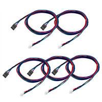 5x 100cm 4-adriges Kabel für Stepper Motor NEMA17 schaft für  Reprap 3D Drucker
