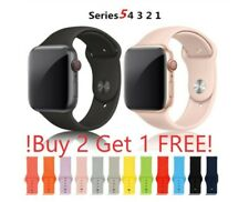 Silicone Band For Apple Watch Strap For Iwatch Serie 5/4/3/2/1