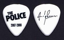 The Police Andy Summers Signature White Guitar Pick - 2007-2008 Tour