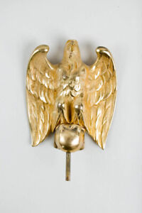 Waltham weight banjo clock signed & gilded eagle finial @ 1920s Original Great!