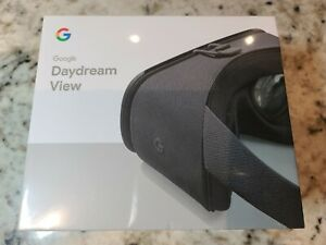GOOGLE DAYDREAM VIEW VR HEADSET WITH REMOTE ( SEALED )