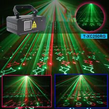Red Green beam scan laser light sound country DMX stage party light