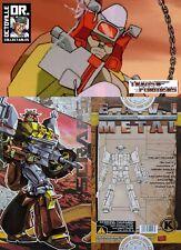 Transformers Masterpiece KFC Toys 6D Scraps / MP Junkion Warrior Brand new