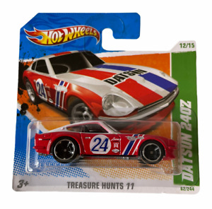 Hot Wheels Datsun 240z - Treasure Hunt Short Card - Combined Postage Available