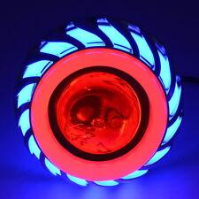Dual Halo Motorcycle 12V-85V Projector Hi/Lo Beam LED Xenon Head Lamp Headlight