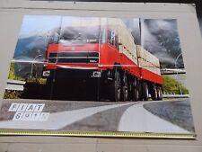 RARO MANIFESTO POSTER ORIGINALE CAMION FIAT 691N 691 N