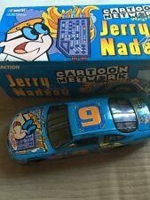 Dexter's Laboratory #9 Cartoon Network 1999 Jerry Nadeau 1/24 NASCAR Diecast 💯
