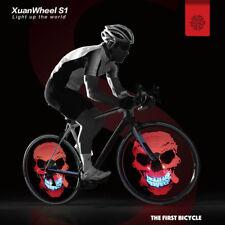 Lámpara de Rueda Neumático de Bicicleta Motocicleta Flash Luz 96 LED DIY APP
