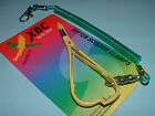 Dr Slick XBC 5 in Yellow Mitten Scissor Clamp Straight Fishing Clamps CMS5YELLOW