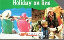 28-Scheda telefonica Telecom Holiday on line sc.12/1996 lire 5.000