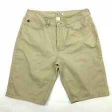 Ralph Lauren polo jeans company shorts, beige, size 10, juniors  (A553)