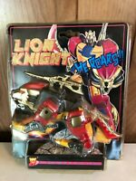LION KNIGHT Vintage RARE Leader Shine Transformable Robot MOC Not a Transformer