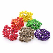 40 Heads Mini Frosted Fruit Berry Holly Artificial Decorative Flower Home Decor