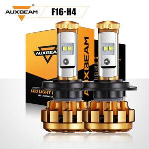 AUXBEAM H4 HB2 9003 LED Headlight Kit Light Bulb High/LOW 50W 5000LM/Set White