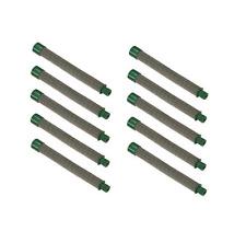 New 10 Pack Genuine Titan 500 200 03 Airless Spray Gun Filters Green 30 Mesh