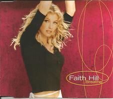 FAITH HILL Breathe / that Kiss w/ RARE POP versions CD Single SEALED USA seller