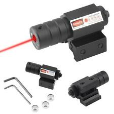 Red Dot Laser Beam Tactical Sight Scope 20mm Picatinny Rail Mount Hunting NEW MT
