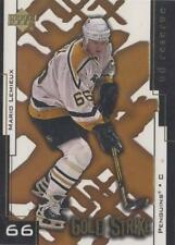 MARIO LEMIEUX PITTSBURGH PENGUINS 2000-01 UD RESERVE GOLD STRIKE #GS8