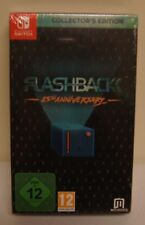 New! Flashback 25th Anniversary [Collector's Edition] (Switch, 2018) PAL Import