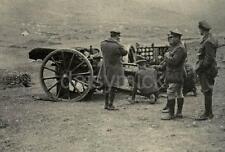 British Army Artillery Gun Crew Serbia World War 1 6x4 Inch Reprint Photo gw