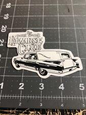 Rare Vintage Paul Frank Sticker Decal Hearse Club Cadillac Dead Evil