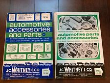 2 J.C. WHITNEY & CO CATALOGS ~ 1967 & 1968 ~ SC ~ AUTO ACCESSORIES AND PARTS