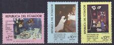 1981 Ecuador Mi. Nr. 1913-1915 Picasso / Paintings postfrisch (MNH)