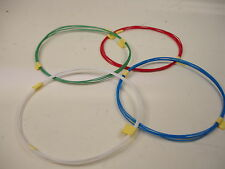 16 feet 32 AWG Silver Plated PTFE Wire 4 color Tonearm white red green blue SPC