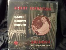 Albert Schweitzer - Bach Organ Music Volume 1