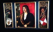 """Albrecht Durer """"Portrait Oswolt Krel"""" German Renaissance Art 35mm Glass Slide"""