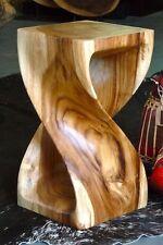 Hocker Holz, Blumensäule,Barhocker, 28x28x50cm Beistelltisch, Tisch, Podest