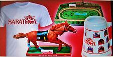 "SARATOGA RACE TRACK RACE COURSE 2013 ""COMMEMORATIVE STEIN / MUG"" -  - NEW"