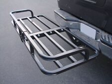 Steel Cargo Carrier Luggage Basket Receiver Hitch Mount Hauler Car SUV Truck ATV