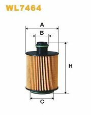 WIX WL7464 OIL FILTER RC536903P OE QUALITY