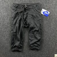 NWT Champro Sports Youth Medium Black Stretch Football Pants