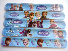 Bulk Lot 10pcs GIRLS bracelet Elsa Anna Olaf Slap Band kids birthday Party Favor
