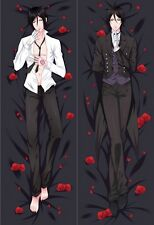 Anime Dakimakura Black Butler Sebastian Michaelis Hugging Body Pillow Case Cover