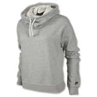Nike Authentic Women's Grey Classic Stanton Hoodie 484147-063 Size M Brand New