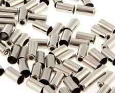 NUOVA BICICLETTA FRENO CROMO Puntali Confezione di x 10 adatta 5mm DIAMETRO alloggiamento del freno