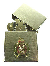 KOSB KINGS OWN SCOTTISH BORDERERS  WINDPROOF CHROME PLATED LIGHTER