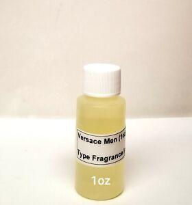 Versace Men type Fragrance/pure body oil (3 sizes)