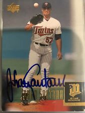 Johan Santana Autographed 2001 Upper Deck Star Rookie #11 Minnesota Twins