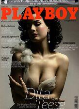 Playboy 12/2008  u.a. mit DITA VON TEESE & Adventskalender!  Dezember/2008