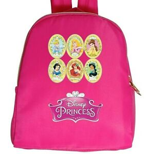 Buy DISNEY PRINCESSES Poly Backpack in Pink Get FREE Cotton T-shirt Size 4 - 12