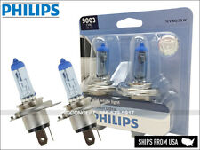 H4 PHILIPS 9003 HB2 Hi/Low Crystal Vision Ultra HID LOOK Bulbs 9003CVB2