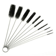 10pcs Nylon Cleaning Brushes Set Multi-function Straw Wash Brush Test Tube Clean